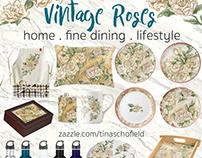 White Rose Dinnerware