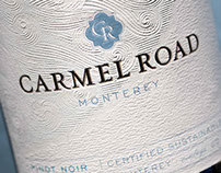 Carmel Road Wine Package Design