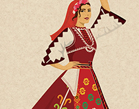 Bulgarian dancer