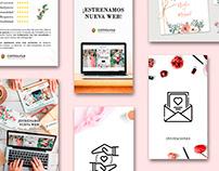 Social Media Restyling | Wedding Invitations Brand