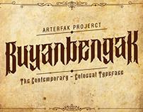BuyanBengak Typeface
