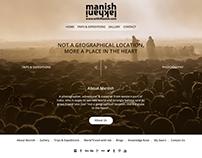 www.withManish.com - UI UX Mockup