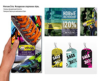 Graphic Design of tags Sale
