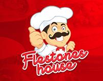 Flestones House branding