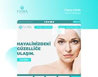 Flora Klinik UI/UX Design