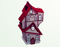 Low Poly Medieval House