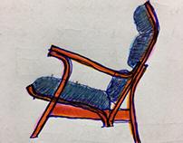 """Merge Chair """"development stage"""""""