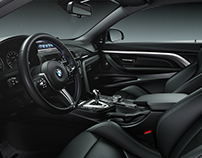 Full CGI Automotive interior render.