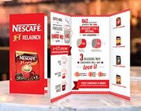 Nescafe Relaunch Sale Kits 2013