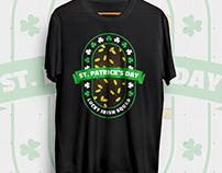 St. Patrick's Day Lucky Irish Squad | T-Shirt Design