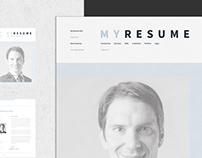Minimal Resume / CV / Curriculum Vitae / 10 Pages