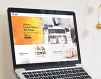 Panda Kindermöbel Web Design
