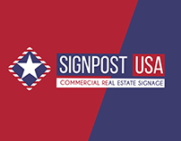 Signpost USA logo and branding