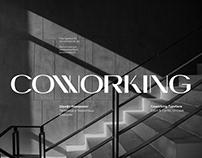 Coworking Typeface | Шрифт Коворкинг