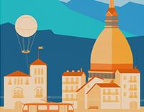 Turin Skyline