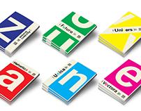 (Six) Type Specimen Books