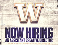 Now Hiring Assistant Creative Director of Football