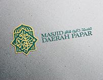 Masjid Daerah Papar Logo Design