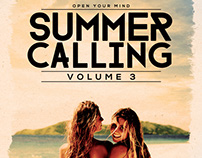 Summer Calling Vol. 3 Flyer/Poster