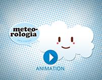 Animação: Meteorologia para Crianças (projeto pessoal)