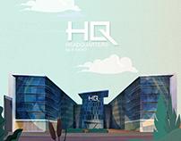 HQ HEADQUARTERS