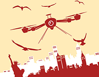 NYC Drone Film Festival Poster