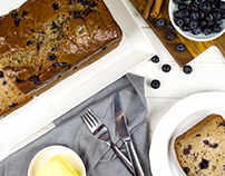 Banana Bread :: Food Photography & Styling