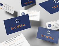 Business cards for Si Capital