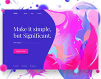 Free Header Collections By Maayo Studio