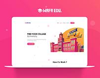 WAFA EDU UI/UX