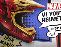 Fox - Special Edition MARVEL Helmets