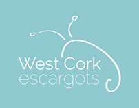 West Cork Escargots logo design
