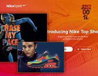 Nike Spirit Store // Responsive PSD Website