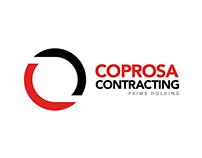 Coprosa Contracting Logo Design