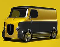 Retro Mini Truck EV