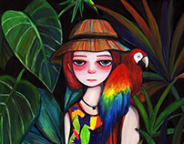 Jungle Life | 插畫聯展