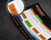 :: Internet service provider (flyer redesign)