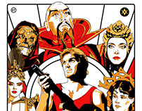 Flash Gordon - Screen Print