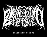 BLACKENED PLAGUE - Fictional Logo