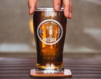 Логотип и фирменный стиль для пивоварни Bridge