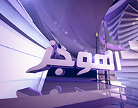 Al Majles TV Headline News Graphic Package