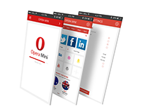 Opera Mini - Mobile App Re Design
