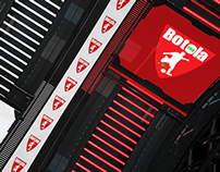 BOTOLA PRO 3d sport motion graphic