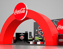 CocaCola Gaming Stand Design
