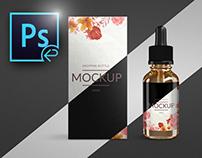 Mock-up Vape smoking Liquid Bottle E-liquid