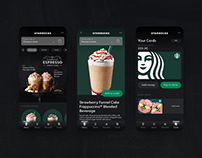 Starbucks App | UI/UX Concept