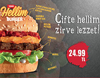 Hellim Burger - Carl's Jr.