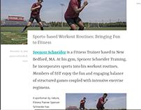 Sports-based Fitness Training - Spencer Schneider