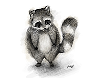 Sketch Stylised Character Illustrations - Animals
