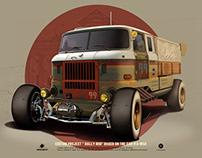 "Custom project ""Rally Rod"" IFA W50"